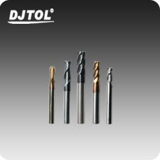 Engraving Tools-DJTOL  TUNGSTEN END MILL SERIES